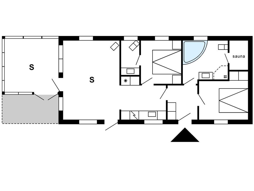 Interieur 1-175 Vakantiehuis 40886, Skindbjergvej 398, DK - 6990 Ulfborg