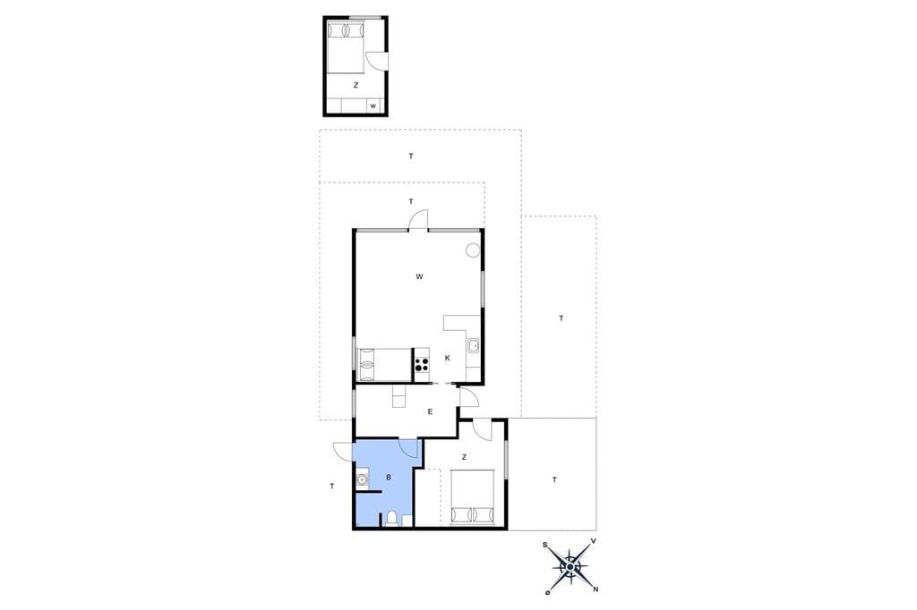 Interieur 1-26 Vakantiehuis SL216, Bildsøvej 117, DK - 4200 Slagelse