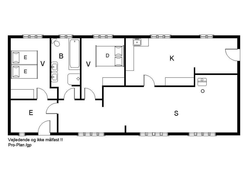 Indretning 1-19 Sommerhus 50021, Tisetvej 62, DK - 8355 Solbjerg