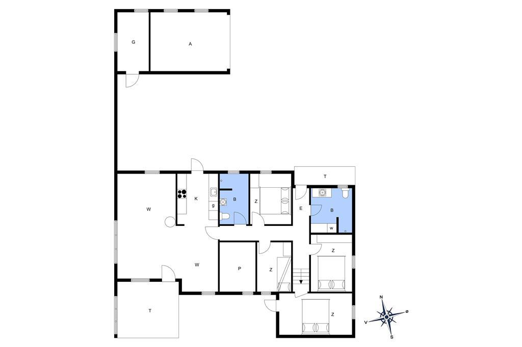 Indretning 1-13 Sommerhus 337, Hummervej 11, DK - 7700 Thisted