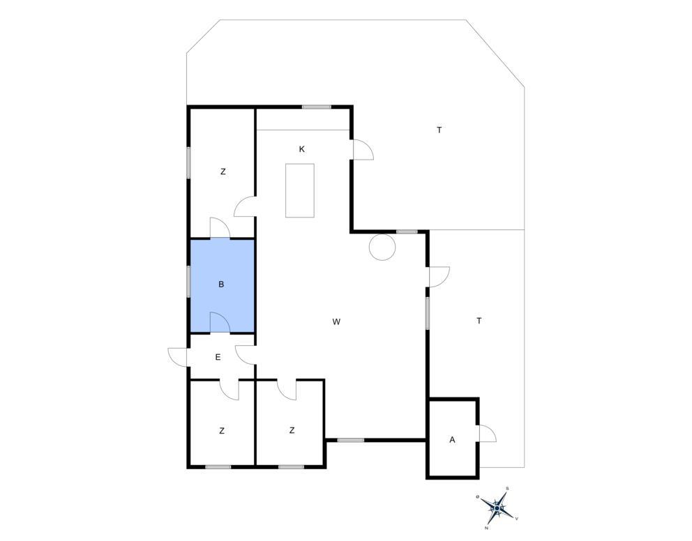 Innredning 1-10 Feirehus 2633, Gubbegårdsvejen 10, DK - 3730 Nexø