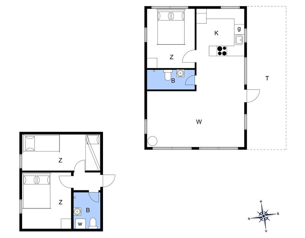 ferienhaus mit internet jb329 tranum strand jammerbucht. Black Bedroom Furniture Sets. Home Design Ideas