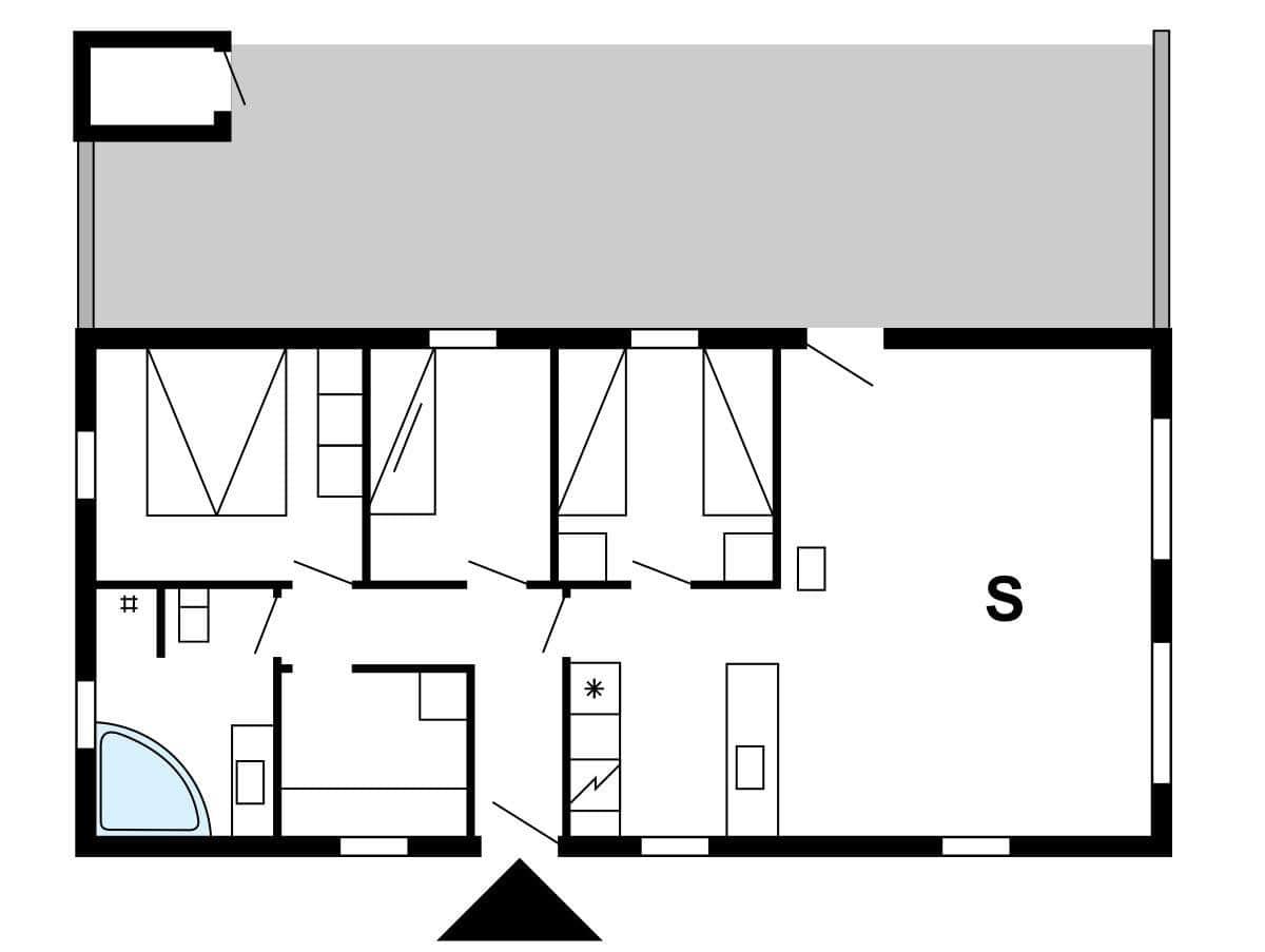 spahaus ferienhaus 30848 n rhede st vest veders klit. Black Bedroom Furniture Sets. Home Design Ideas