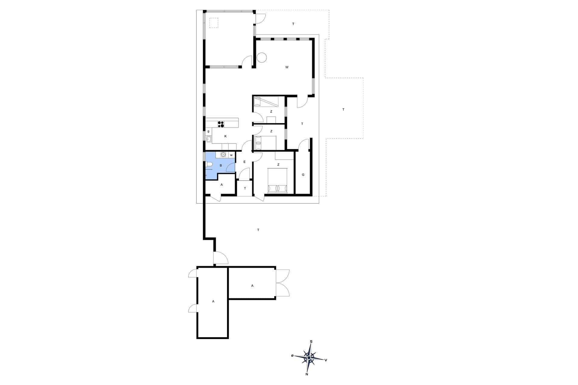 ferienhaus oh249 helberskov kattegat. Black Bedroom Furniture Sets. Home Design Ideas
