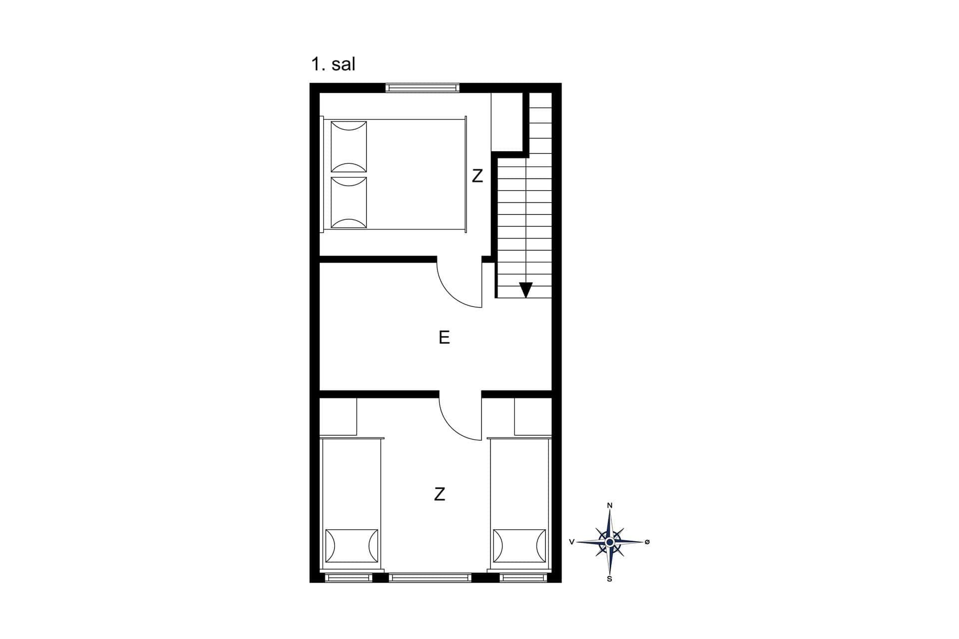 strandhaus ferienhaus oh295 ster hurup kattegat. Black Bedroom Furniture Sets. Home Design Ideas