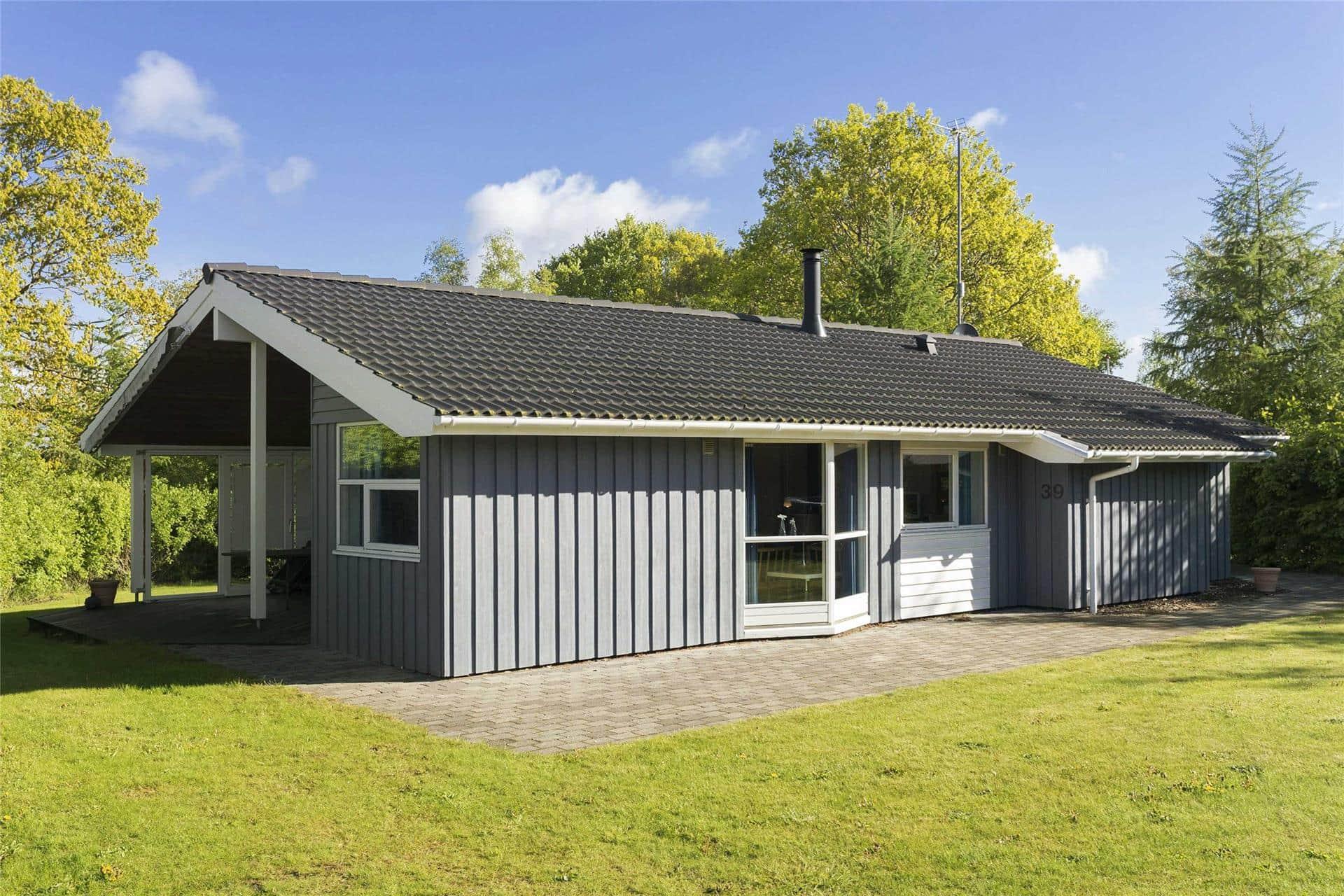 Billede 1-23 Sommerhus 8810, Fløden 39, DK - 8585 Glesborg