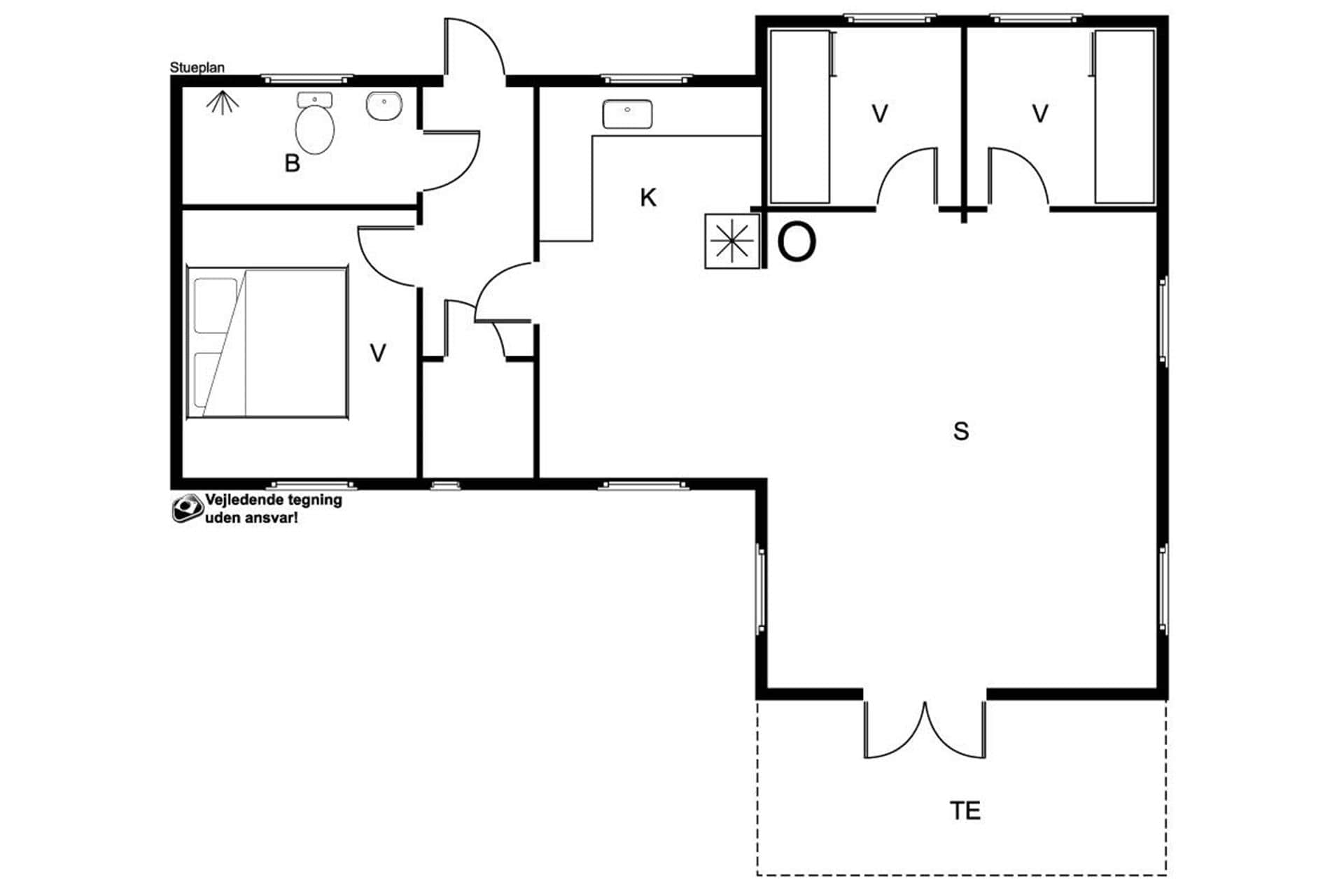 strandhaus ferienhaus 20101 sams sams. Black Bedroom Furniture Sets. Home Design Ideas