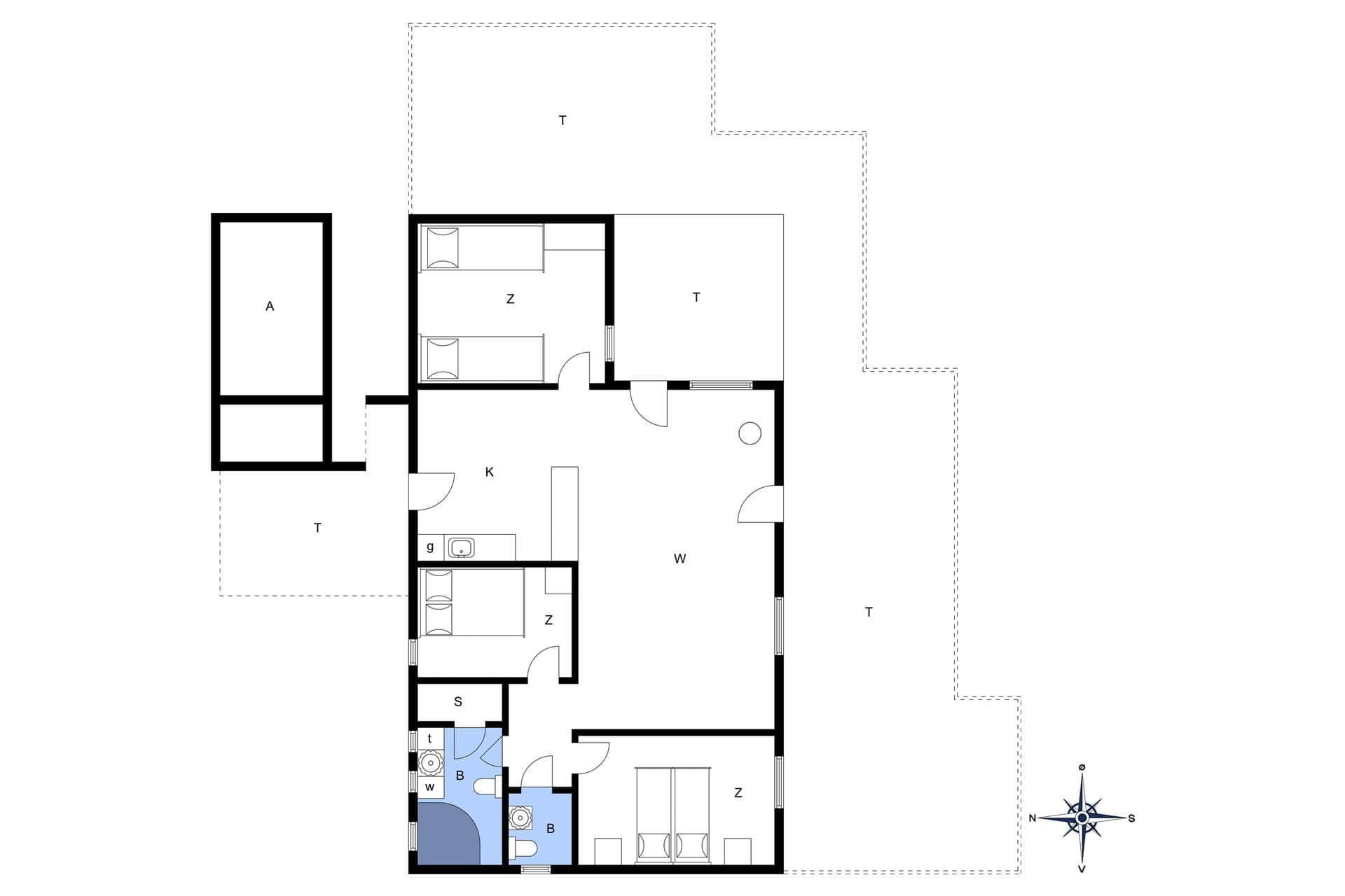 spahaus ferienhaus 797 vorup r thy. Black Bedroom Furniture Sets. Home Design Ideas