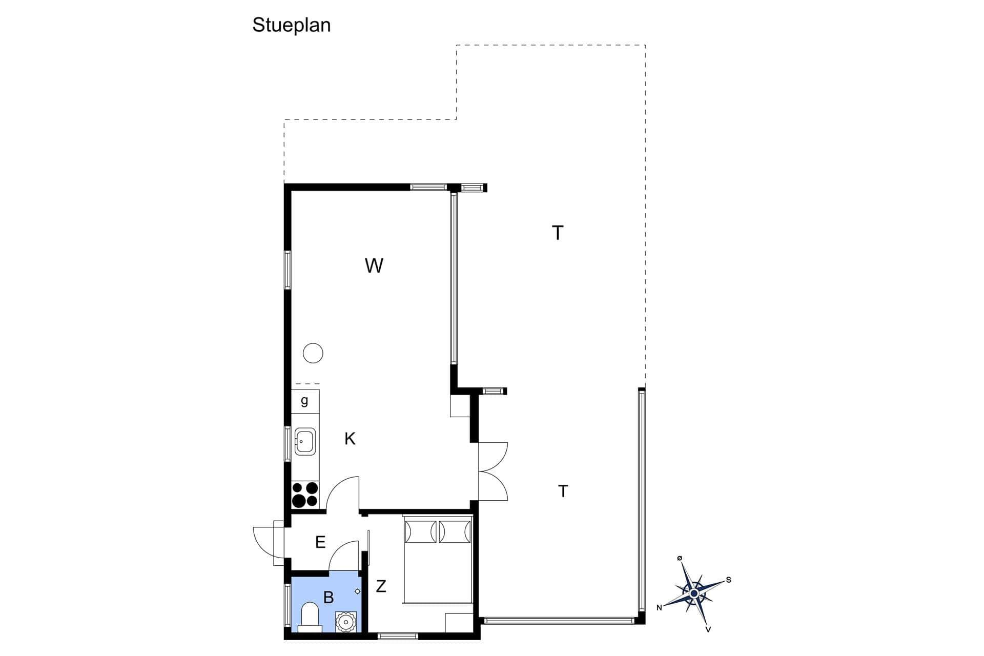 strandhaus ferienhaus s725 str by egede stevns stevns. Black Bedroom Furniture Sets. Home Design Ideas
