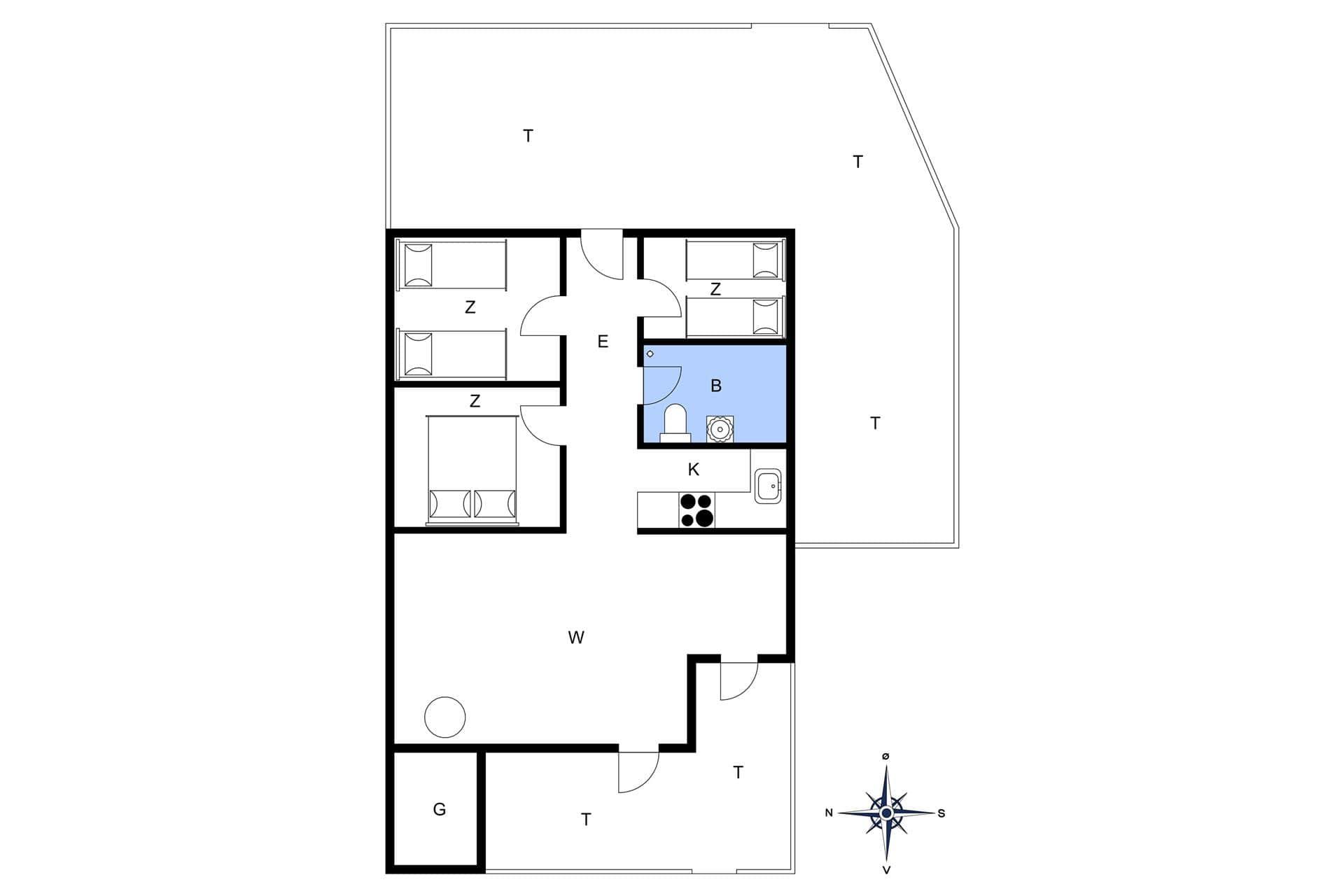 strandhaus ferienhaus 171 vejlby klit vejlby klit. Black Bedroom Furniture Sets. Home Design Ideas