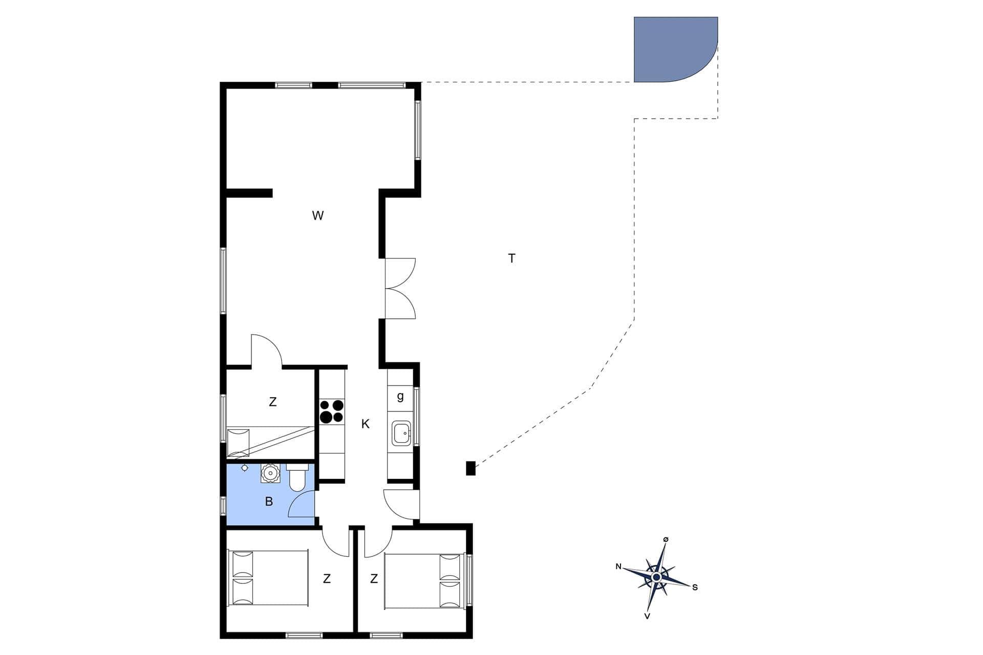 ferienhaus mit internet 7301 bog m n bog. Black Bedroom Furniture Sets. Home Design Ideas